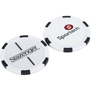 Slazenger(TM) Turf Poker Chip Ball Marker