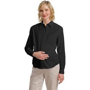 Port Authority (R) Maternity Long Sleeve Easy Care Shirt