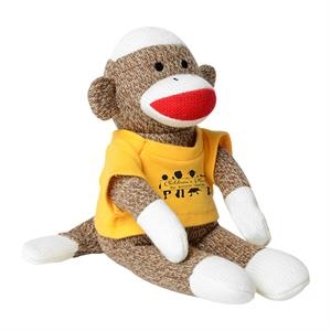 Chelsea (TM) Plush Sock Monkey