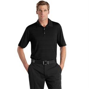 Nike Elite Series Dri-FIT Heather Fine Line Bonded Polo.