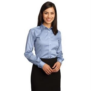 Red House - Ladies Non-Iron Pinpoint Oxford Shirt.