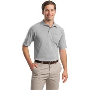 JERZEES -SpotShield 5.6-Ounce Jersey Knit Sport Shirt wit...