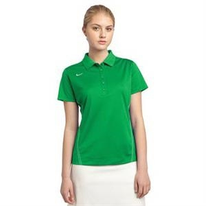 Nike Golf Ladies Dri-FIT Sport Swoosh Pique Polo.