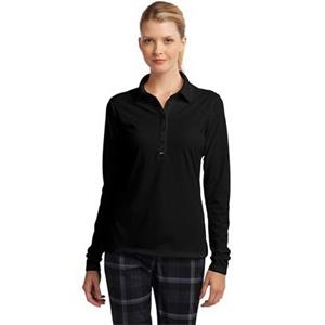 Nike Ladies Long Sleeve Dri-FIT Stretch Tech Polo.