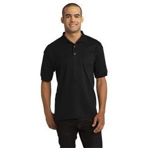 Gildan DryBlend 6-Ounce Jersey Knit Sport Shirt with Pocket.