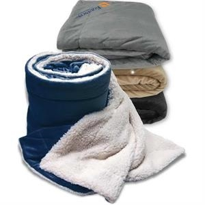 Oversized Sherpa Blanket