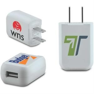 One-Port USB AC Wall Charger - UL Listed