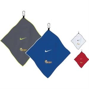 "Nike (R) 14\"" x 14\"" Microfiber Towel"