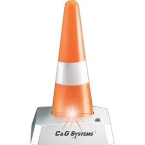 Blinking LED Desktop Traffic Safety Cone