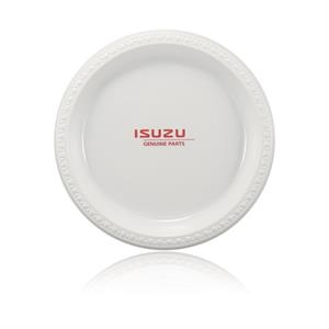 "10\"" Plastic Plate - White"