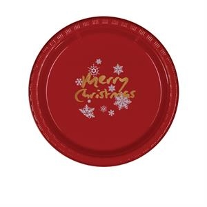 "7"" Plastic Plate - Red"