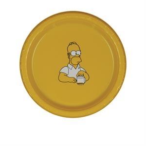 "7\"" Plastic Plate - Yellow"