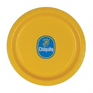 "9""  Coated Paper Plate - Yellow"