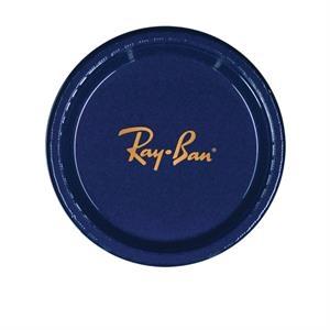 "7\"" Plastic Plate - Dark Blue"