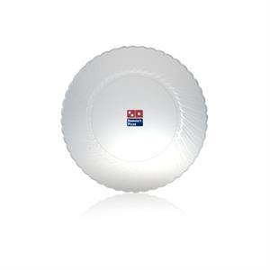 """10\"""" ClassicWare Plastic Plate - Clear"""