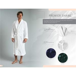 The Premium Deluxe Shawl Collar Terry Robe