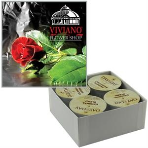 Custom Single Serve Coffee Cups K-Cup - 4 Pack Box