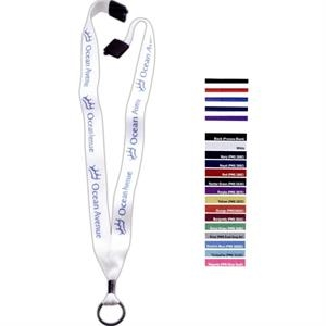 "3/4"" Polyester Convenience Release Lanyard"