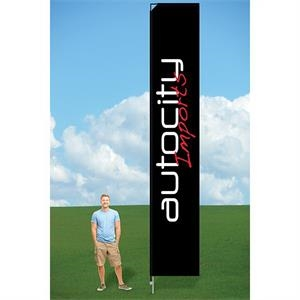 14ft PromoFlag with Ground Stake-single