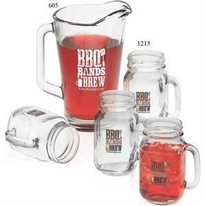 Pitcher and Handled Jar Set