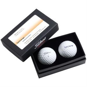 Titleist 2-Ball Business Card Box w/ DT TruSoft