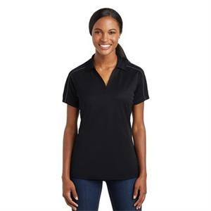 Sport-Tek Ladies Micropique Sport-Wick Piped Polo.