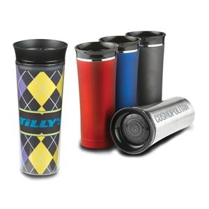 16 oz double wall stainless Empire  Tumbler