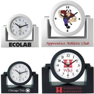 Desk Top Variable Angle or Swivel Alarm Clock