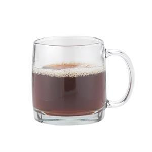 13 oz Nordic 13 latte glass mug wth C-handle