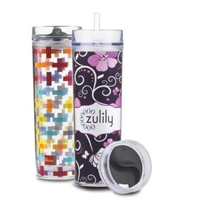16 oz double wall Pandora Tumbler