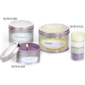 Aromatherapy Candle in Medium Window Tin