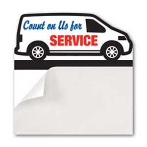 Peel n Stick Add A Card Magnet - Van