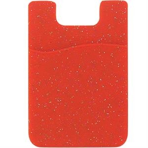 Smartphone Silicone adhesive Glitter I-Wallet