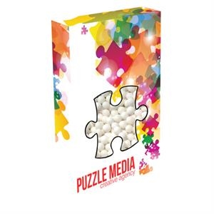 Customizable Puzzle Box Packaging with Signature Peppermints