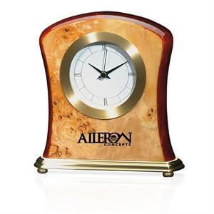 Burlwood Clock