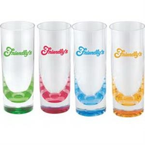 15 oz. acrylic Tumbler with colorful base Collins