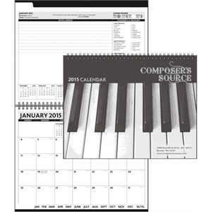ThePresident (TM) Monthly Planner - ClearView