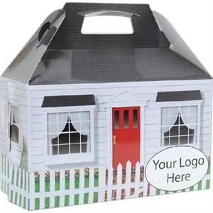 """COOKIE BOX - Real Estate House (6.4"""" x 3.4"""" x 3.9"""")"""