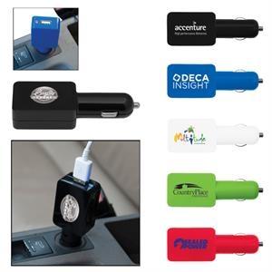 Flat USB Car Adapter