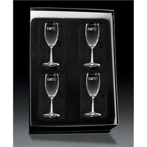 Flute Glass - Set of 4