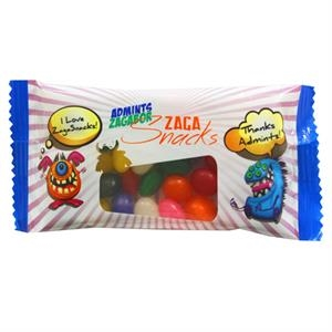 Small Snack Pack Candy Bag with Jelly Beans