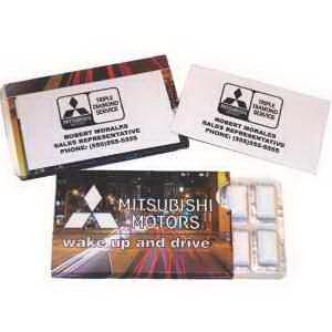 Business Card Gum Pack