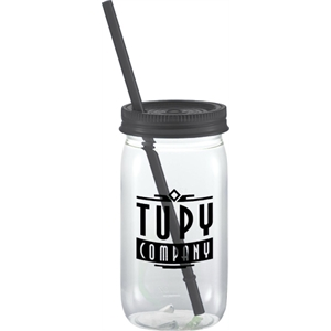 Liberty 20-oz. Square Mason Jar