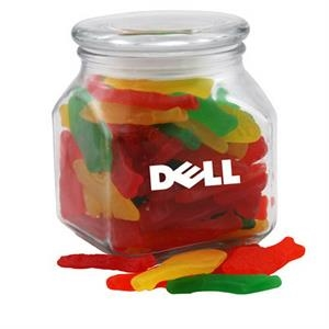 Swedish Fish in a Large Glass Jar with Lid
