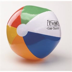 "24"" Six Color Beach Ball"