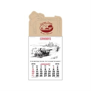 Cowboy Calendar (12-Month)
