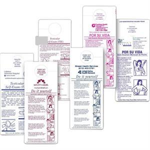 Breast Self-Exam Shower Chart in Spanish