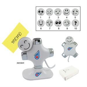 Custom Face 4 Port Cute Head 2.0 USB Hub
