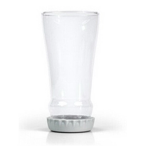 16oz bottle shaped beer glass