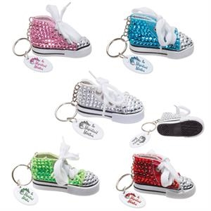 Gym Shoe Bling Keytag